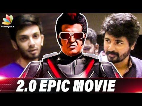 2.0 is Pride of Indian Cinema   Anirudh & Sivakarthikeyan at Enthiran 2 FDFS   Review & Reaction