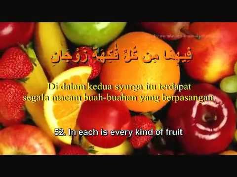 Surah Ar Rahman dan Terjemahan Ilmiahnya