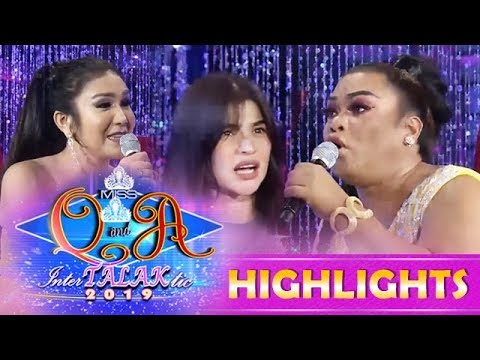 It's Showtime Miss Q & A: Anne is amazed with Didong Dantes Avanzado and Boom-Boom Reyes debate