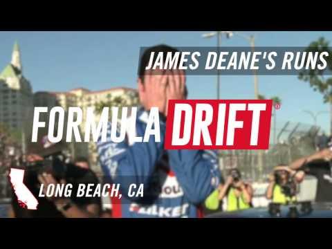 Formula Drift Long Beach: James Deane's Runs