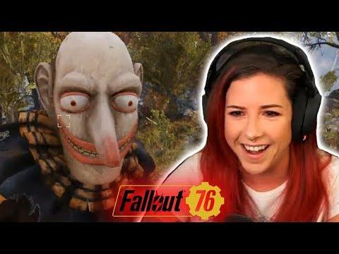 Taylor the Creepy Clown (Fallout 76 Stream Highlight)