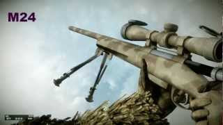 Battlefield Bad Company 2 All Weapons In Slow Motion [DX 11, FULL HD, ULTRA DETAILS, BF BC2]