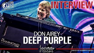 "DEEP PURPLE - Don Airey ""Whoosh!"" interview @Linea Rock 2020 by Barbara Caserta"