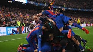 Short Movie The Greatest Comeback in Champions League History (Barcelona 6-1 Paris Saint-Germain)