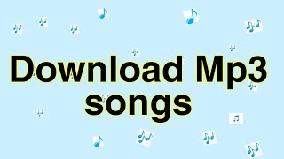 How to download any song for free||free me mp3 gaana kaise download kare||Bollywood or Hollywood mp3