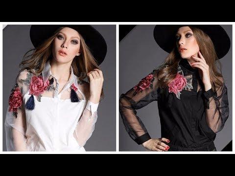 Женская одежда AliExpress - Красивая рубашка