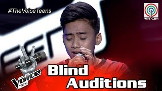 The Voice Teens Philippines Blind Audition: Bryan Chong - Kahit Kailan