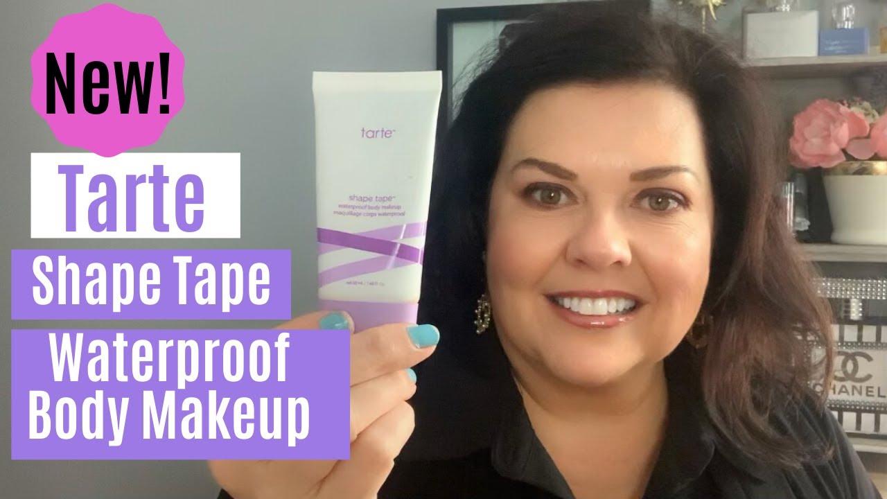 Tarte Shape Tape Waterproof Body Makeup Review Youtube