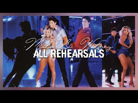 Milo & Witney ALL Rehearsal Packages