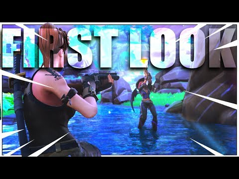 FIRST LOOK (SOLO) Gameplay On New Fortnite Update!