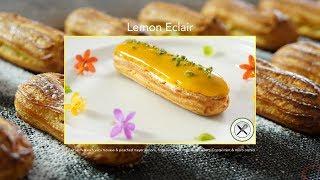 Lemon Eclair Recipe – Bruno Albouze – THE REAL DEAL