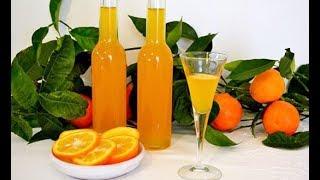 Апельсиновый ликер, Оранчелло, домашний рецепт.