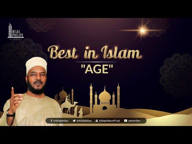 AGE - Dr. Bilal Philips [HD]