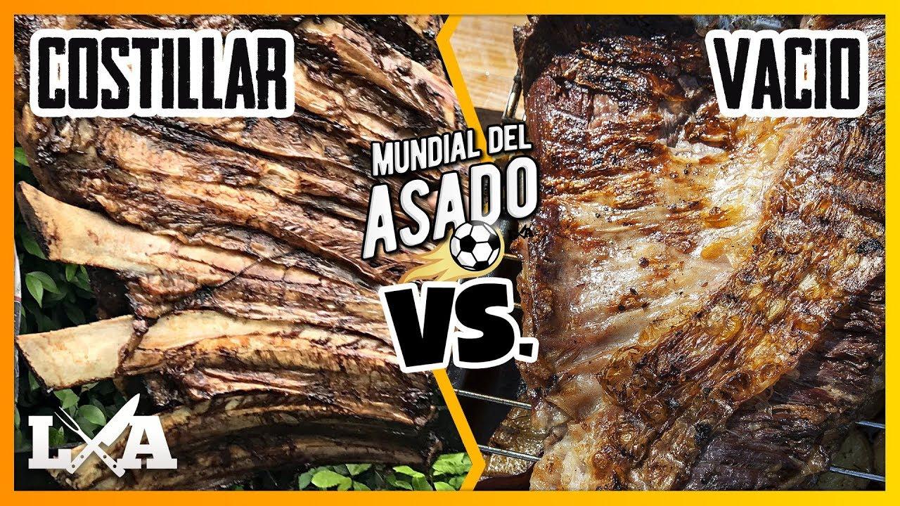 COSTILLAR vs VACIO | MUNDIAL DEL ASADO