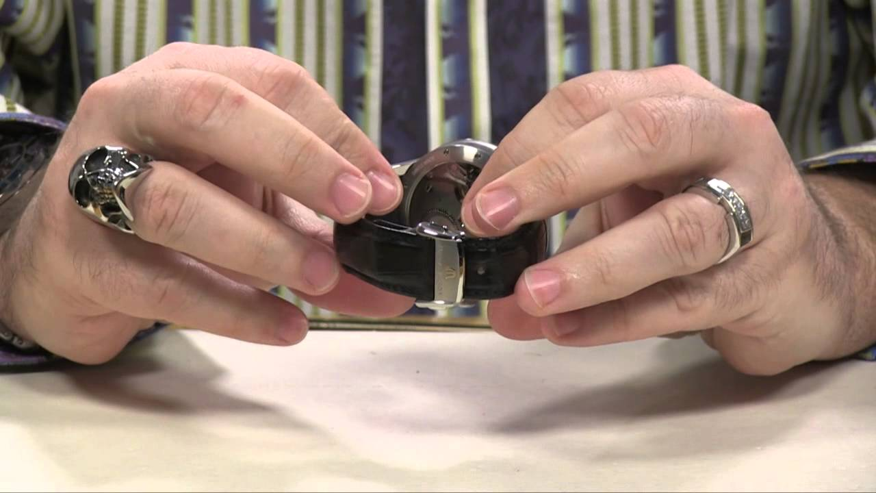 f33022bc40934c How to buckle your watch strap - YouTube