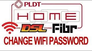 How to Change WIFI Password PLDT DSL Fibr 2019 router using mobile phone  #LINTECHph #tagalog