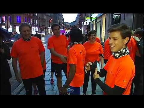 France2 à suivi Paris Inn Group MARATHON DE NEW YORK Avec SimAlti