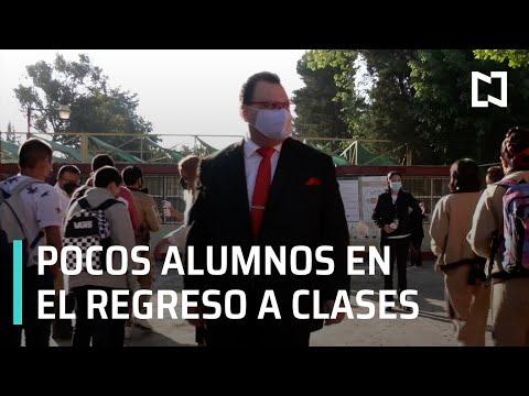 Regreso a clases presenciales en 24 mil escuelas de México - En Punto