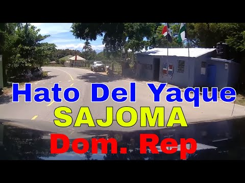 Driving Downtown - Hato del Yaque a Sajoma - Dominican Republic