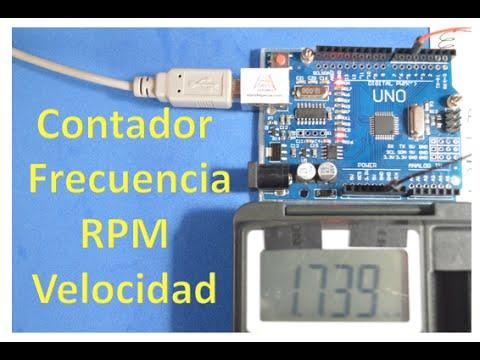47e4ec411 ✅ Medidor de frecuencia, RPM y Velocidad con Arduino - YouTube