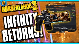 Borderlands 3 - NEW LEGENDARY LOOT! INFINITY RETURNS?!