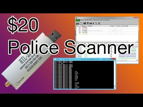 ($20 Digital Police Scanner) SDR# UniTrunker RTL-SDR Tutorial [MAY 2013]
