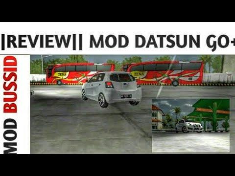 Review Mod DATSUN GO+   BUSSID  