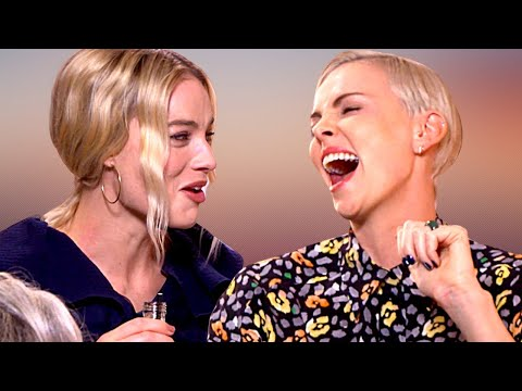 MARGOT ROBBIE And CHARLIZE THERON On Bringing Their Mums To The Oscars (2020)