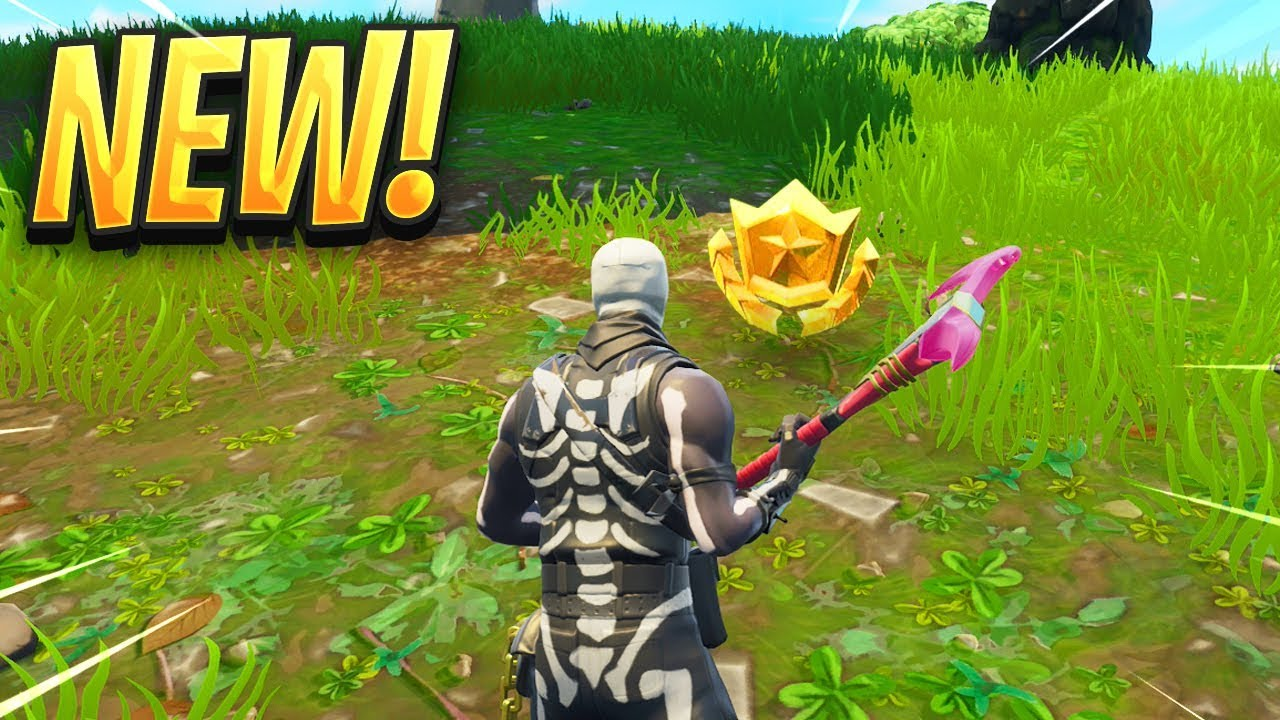 Follow The Treasure Map Found In Dusty Divot Fortnite Map Location