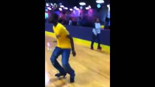 DeQuae of Team Show Out Ohio Rockin out @ Skate Zone 71 Columbus Ohio STRIDE