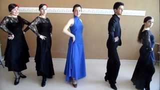 LEARNING TO DANCE SEVILLANAS