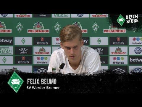 Werder-Neuzugang Felix Beijmo stellt sich vor