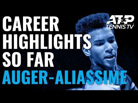 Felix Auger-Aliassime: 18-Year-Old Prodigy's Career Highlights So Far