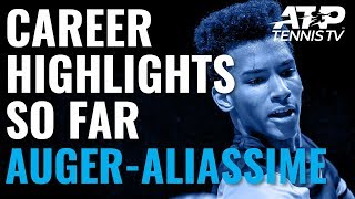 Felix Auger-Aliassime: 18-Year-Old Prodigy's Career Highlights So Far