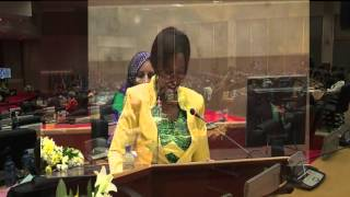 Address by H.E Ms Maite Nkoana-Mashabane, 1st Ordinary Session of the 4th Pan African Parliament.
