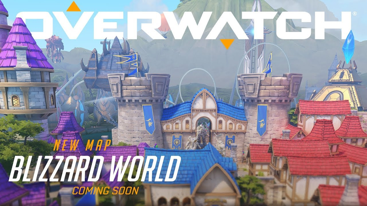 Now Available Blizzard World New Hybrid Map Overwatch Youtube