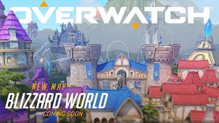 [COMING SOON] Blizzard World | New Hybrid Map | Overwatch