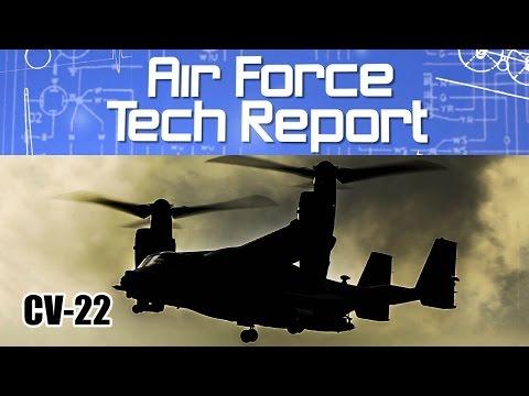 Air Force Tech Report: CV-22B Osprey