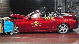 Mercedes C-Class Cabriolet (2017) CRASH TEST