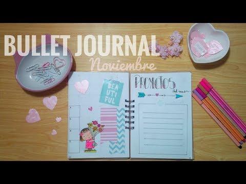 Bullet Journal: Edición Noviembre | Woman Tracker