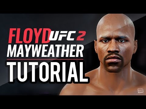 How To Make Floyd Mayweather In EA SPORTS UFC 2 Create A Fighter