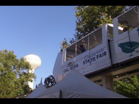 The California State Fair Monorail 7/21/17