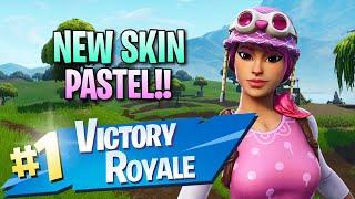 """Nouveau """"Pastel"""" Skin!! 11 Elims! - Fortnite: Jeu De Battle Royale"""