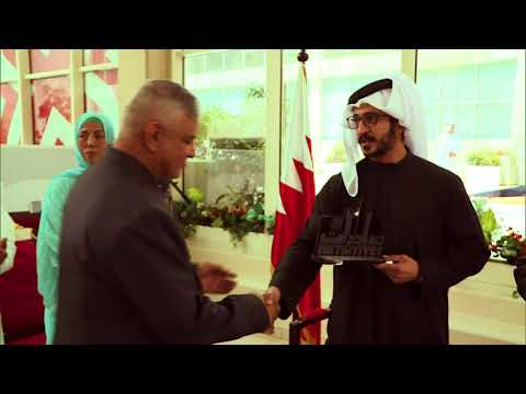 Khalid bin Hamad opens the office of #Initiatives at University of Bahrain