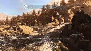 Medal of Honor 2010 Gameplay on ASUS GTS 450 1080p