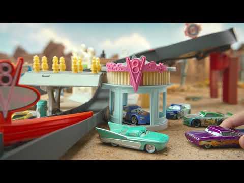 Disney Pixar Cars Race Around Radiator Springs Playset   Mattel