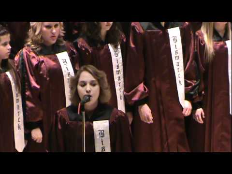"""O Holy Night"" Bismarck High School Concert Choir 2011"