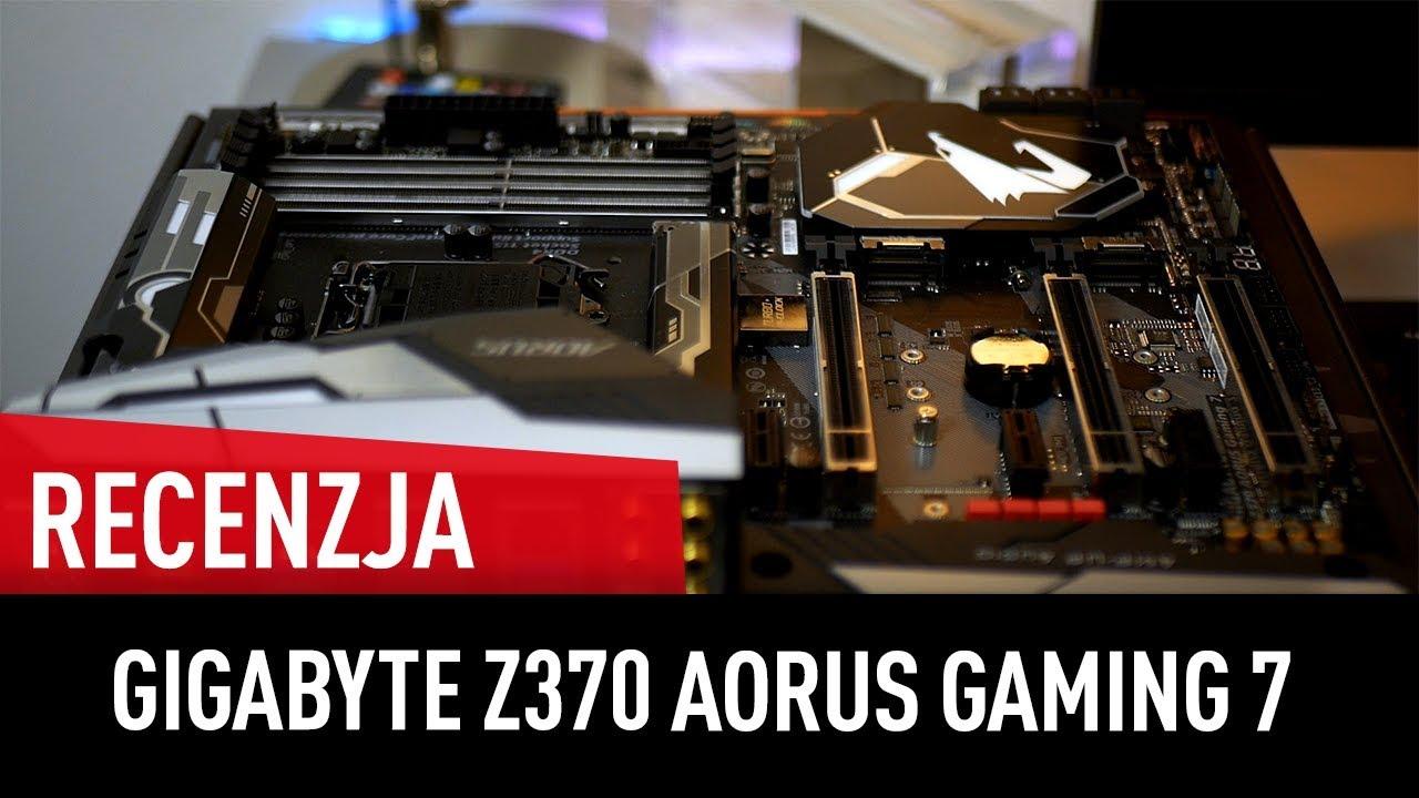 TEST płyty dla i7-8700K – Gigabyte Z370 AORUS Gaming 7!