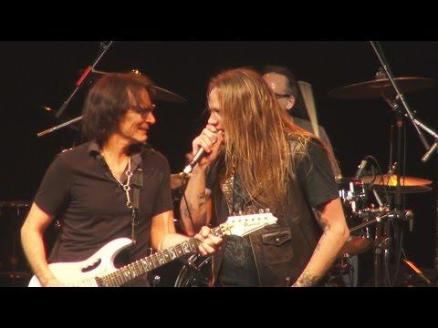 Sebastian Bach & Steve Vai - Red Barchetta & Tom Sawyer (RUSH Covers) Miami 2-21-15