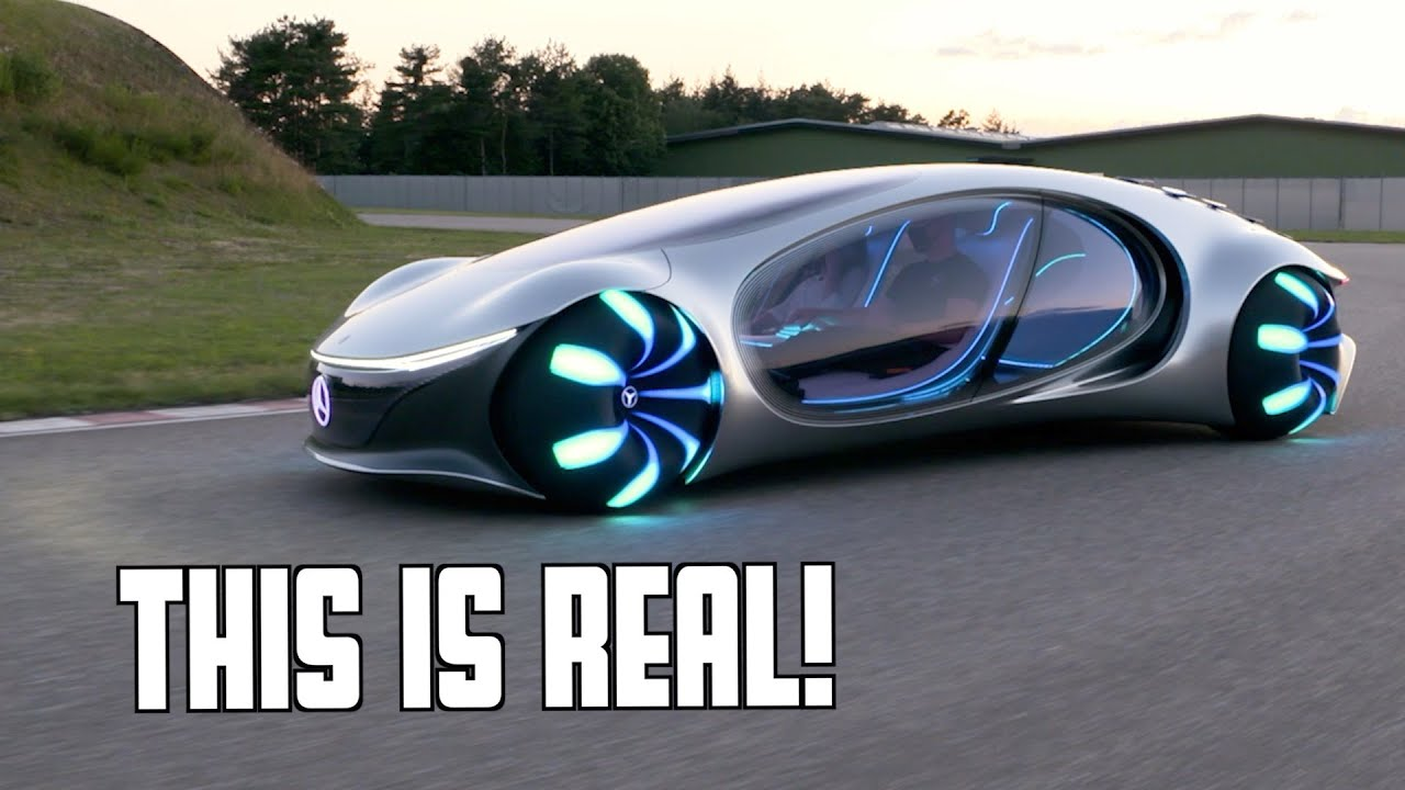 Futuristic Mercedes Drives Sideways | AVTR